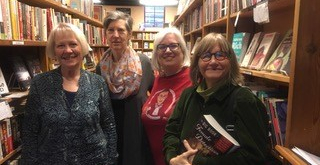 L->R: Marty Wingate, Waverly Fitzgerald, Sarah Niebuhr Rubin, Alice Boatwright