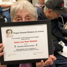 Nan Robkin honored for years of service.